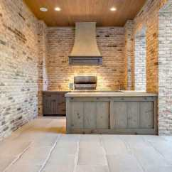 Outdoor Kitchen Hood Cheap With Transitional Deck Patio