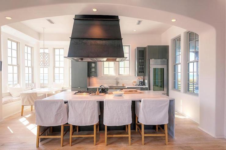 kitchen island hood craigslist cabinets over cottage