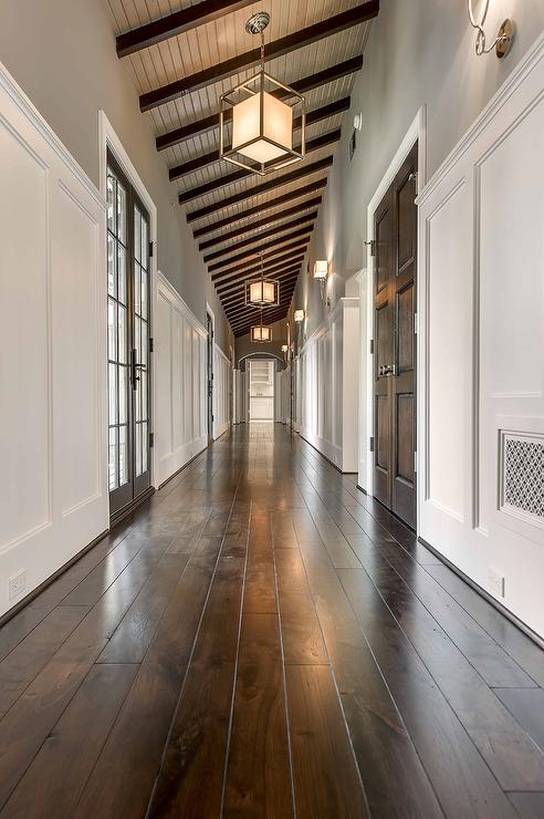 Long Hallway Design Ideas