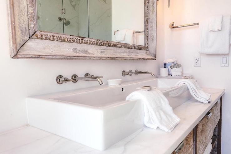 master bath trough sink design ideas