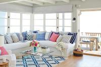 Beach Cottage Living Room - Design, decor, photos ...