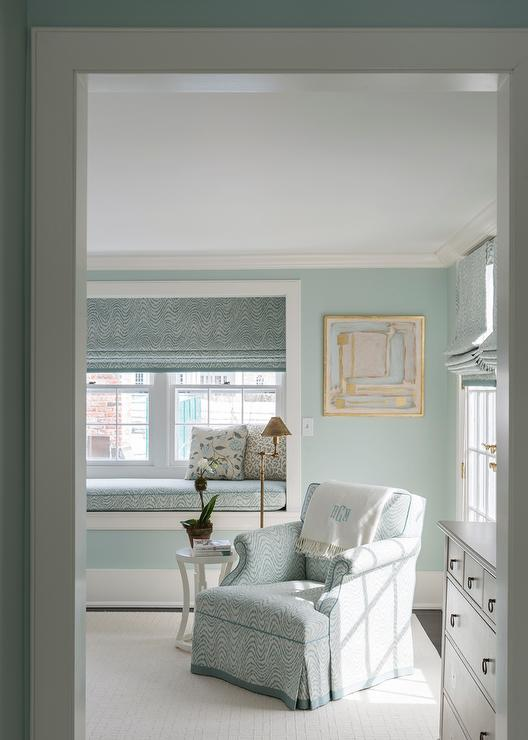 Master Bedroom with Built in Window Seat Nook