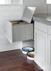 Dog Food Storage Ideas - Contemporary - Kitchen
