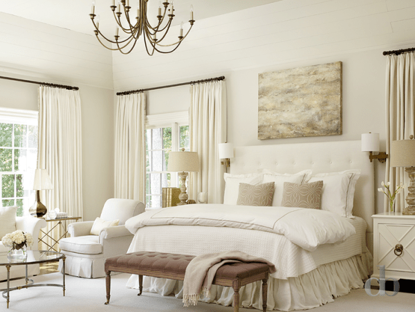 ivory and beige bedroom Transitional Ivory Bedrooms - Transitional - Bedroom