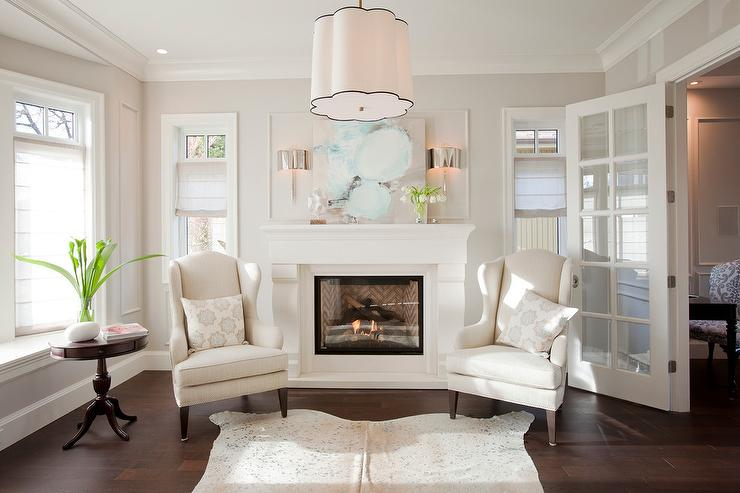 turquoise side chair isabella accessories fireplace with wingback chairs - transitional living room benjamin moore dove wing