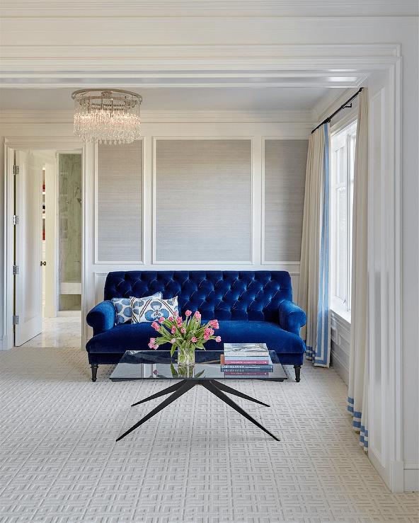 Cobalt Blue Curtains Design Ideas