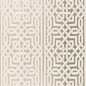 Schumacher Morocco Silver Wallpaper
