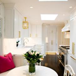 Kitchen Banquette Furniture Basics Chicken Stock Built In Under Bay Window - Transitional