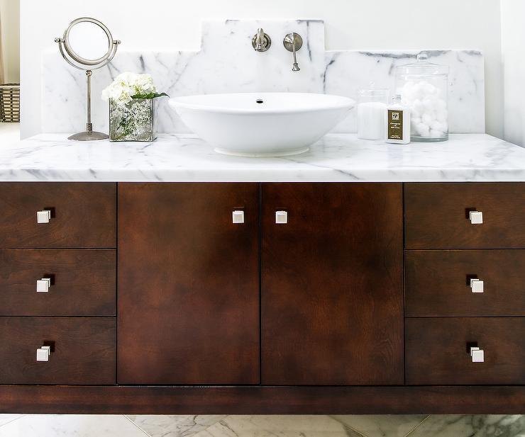 Bathroom Vanity With Bowl Sink Transitional Bathroom