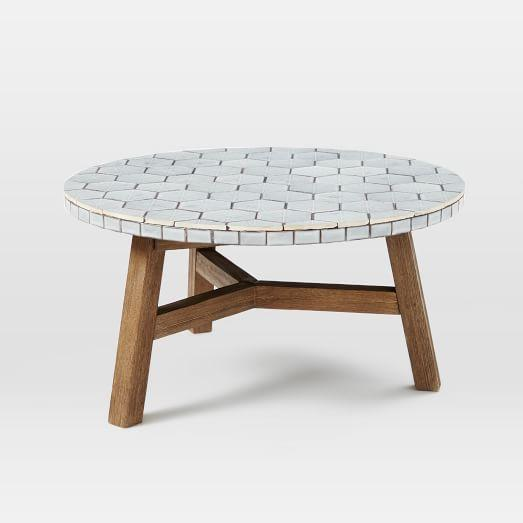Mosaic Tiled Coffee Table