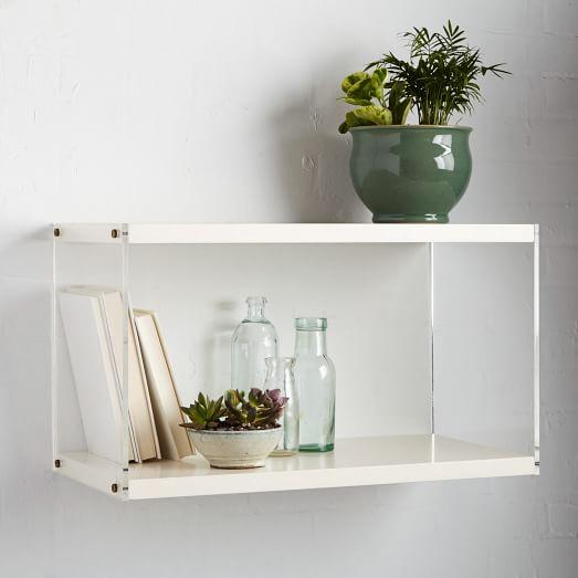 Flat Shelves without Front Lip   wall shelves