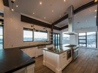 Kitchen with Sloped Ceiling - Modern - Kitchen