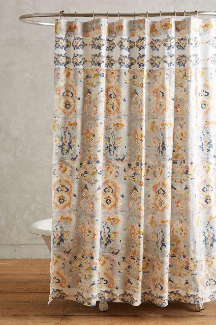 Orissa Multicolor Shower Curtain