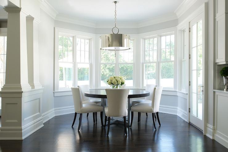 Ivory Leather Dining Chairs Design Ideas