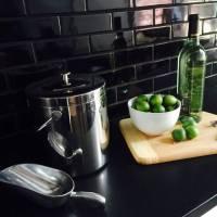 Black Subway Tile Kitchen Backsplash Design Ideas