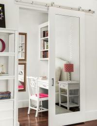 Mirrored Barn Door Design Ideas
