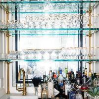 Marble Wet Bar Sink Design Ideas