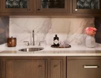 Quartz Slab Backsplash Design Ideas