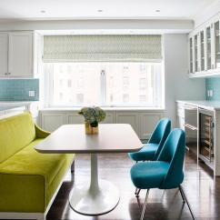 Kitchen Settee Tools And Gadgets Green Dining Room Contemporary