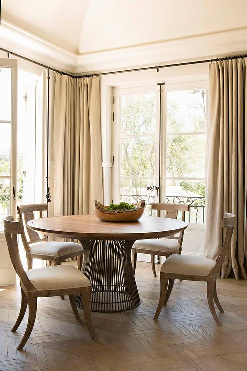 Klismos Dining Chairs  Traditional  dining room