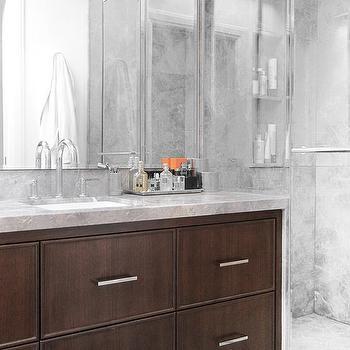 black faucet kitchen discount sinks waterfall edge countertop design ideas