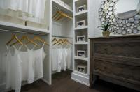 Walk in Closet with Freestanding Dresser - Transitional ...