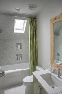 Dormer Shower and Tub Combo - Cottage - Bathroom - Sherwin ...