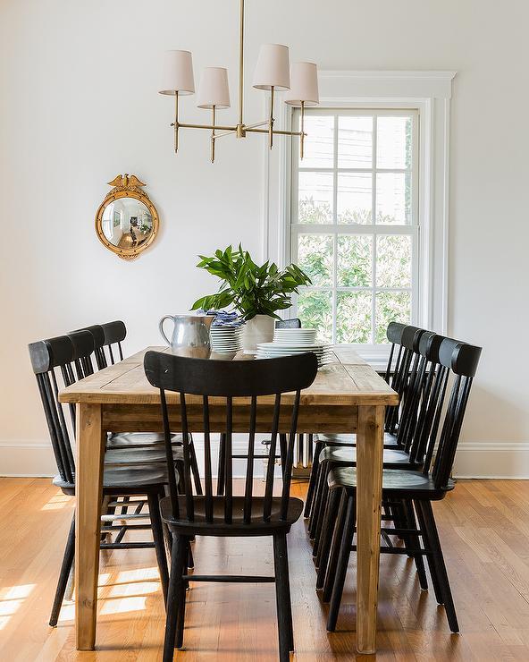 Black Farmhouse Chairs