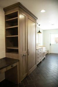 Black Slate Herringbone Tile Floor - Tiles Design Ideas