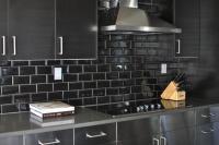 Stainless Steel Cooktop Backsplash Design Ideas