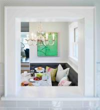 Breakfast Room Pass Through - Transitional - Dining Room ...
