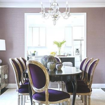 velvet chair design how to make a queen throne purple chairs ideas dining rooms