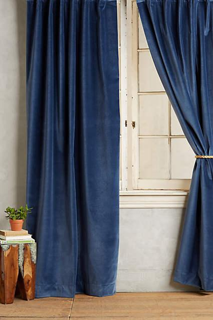 Belle Nuit Silk Drapes  Curtains  Half Price Drapes