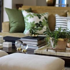 Green Cushions Living Room Mexican Decor Beige And Rooms Transitional