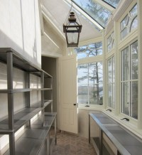 Butlers Pantry with Lots of Windows - Transitional - Kitchen
