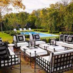 Iron Outdoor Chairs How To Clean Suede Wrought Patio Furniture Transitional Deck