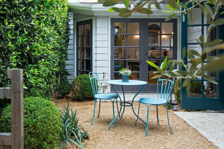 turquoise patio chairs straight back chair for elderly table and cottage deck