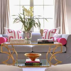 Light Pink Living Room Ideas Types Of Curtains For And Gray Rooms Contemporary