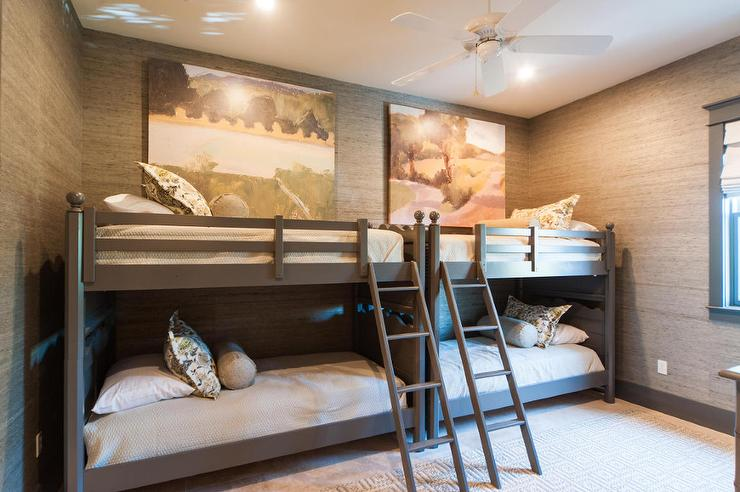 Kids Built In Loft Bed  Cottage  Boys Room