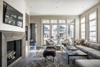 Gray Living Rooms - Contemporary - Living Room