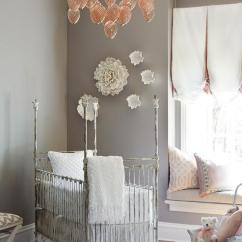 French Canopy Chair Office For Lower Back Pain Shelves Over Crib - Transitional Nursery Cape 27