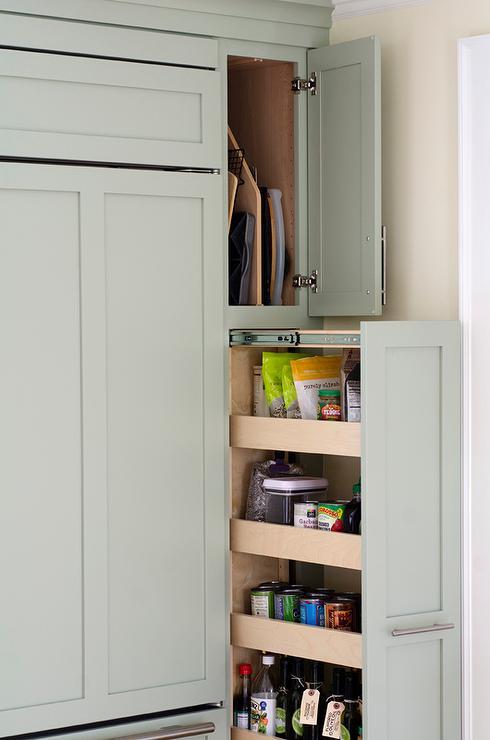 Sage Green Kitchen Island Floor To Ceiling Kitchen