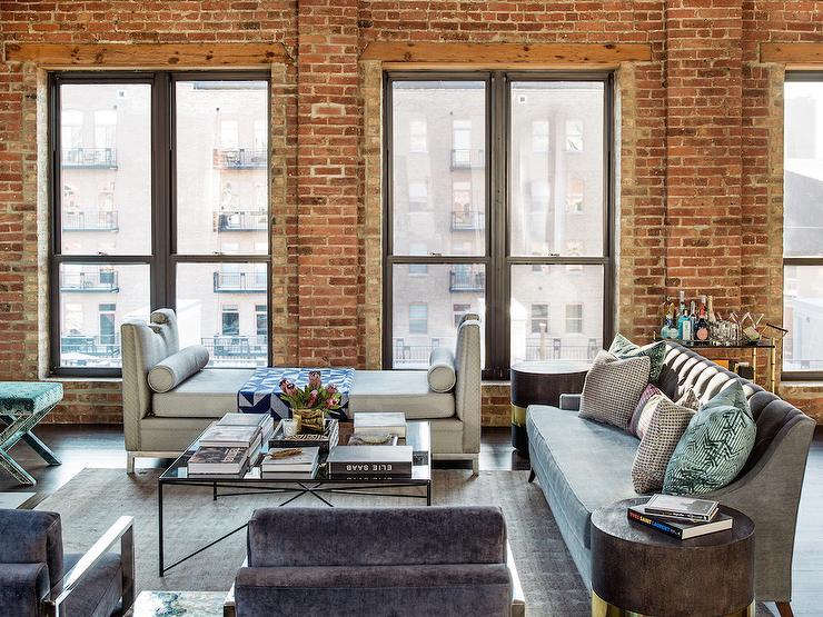 Loft Living Room Design  Transitional  Living Room
