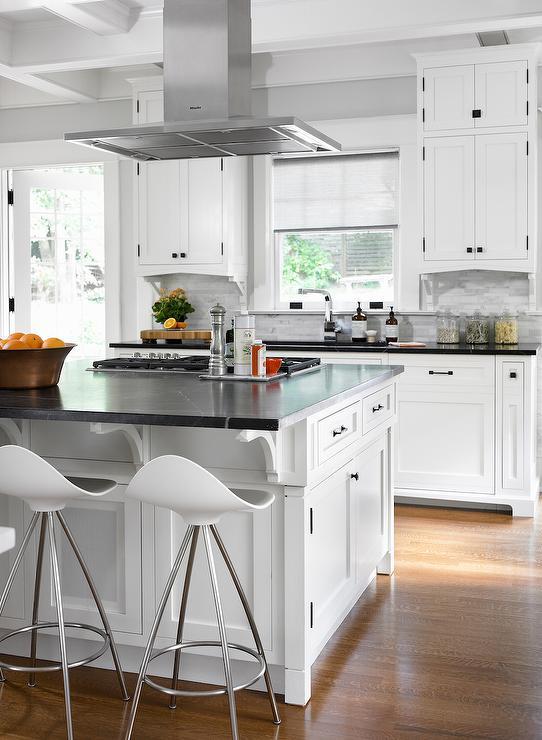 White Kitchen Extractor Hood