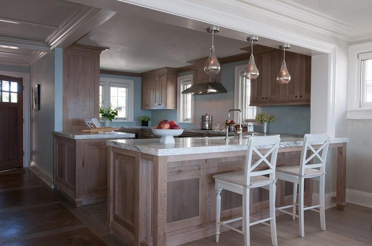 Blue And Brown Kitchen Design Ideas