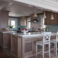 Three Counters In Kitchen