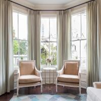 Curtains On Bay Windows Design Ideas