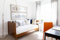 Office and Guest Room Combo - Contemporary - Den/library ...