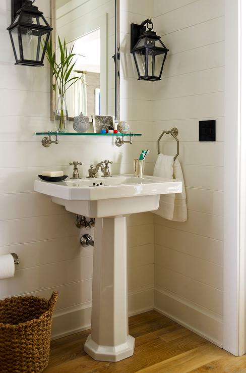 Powder Room Sconces Design Ideas