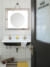 Black Kohler Brockway Sink - Contemporary - Bathroom